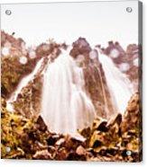 Waterfall Scenics  Acrylic Print