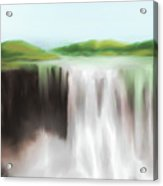 Waterfall Study 1 Acrylic Print