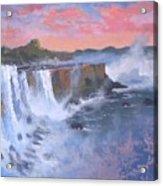 Waterfall Study Acrylic Print