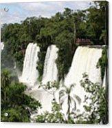 Waterfall Wonderland Acrylic Print