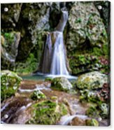 Waterfall. Acrylic Print