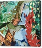 Waterfalling Jungle Acrylic Print