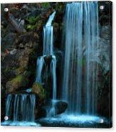 Waterfalls Acrylic Print by Clayton Bruster