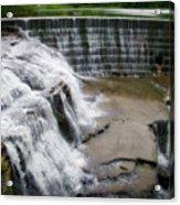 Waterfalls Cornell University Ithaca New York 06 Acrylic Print