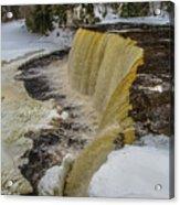 Waterfalls Upper Tahquamenon -6049 Pure Michigan Acrylic Print