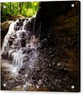 waterfallScoop Acrylic Print