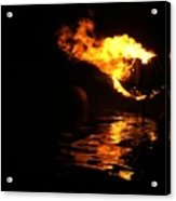 Waterfire 2007-1 Acrylic Print
