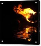 Waterfire 2007-1 Acrylic Print