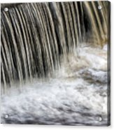 Waterflow Waterfall On A Small Creek Acrylic Print