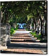 Waterfront Park Charleston Acrylic Print by Lori Kesten