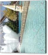 Waterfun  Acrylic Print