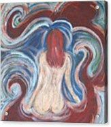 Watergirl Acrylic Print