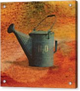 Watering Can H20 Acrylic Print