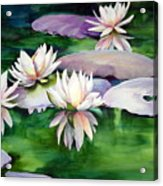 Waterlilies Acrylic Print