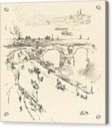 Waterloo Bridge Acrylic Print