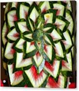 Watermelon Art Acrylic Print