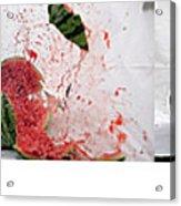 Watermelon Progression Acrylic Print