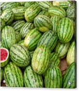 Watermelons Acrylic Print