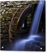 Watermill Wheel Acrylic Print