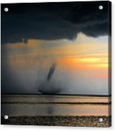Waterspout Panoramic Acrylic Print