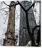 Watertower Chicago Acrylic Print