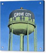 Watertower Grove City Acrylic Print