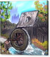 Waterwheel Acrylic Print