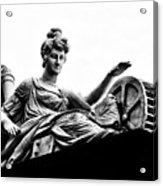 Waterworks Goddess Acrylic Print