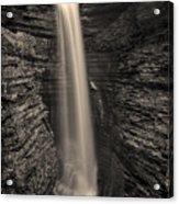 Watkins Glen Cavern Cascade #5 Acrylic Print