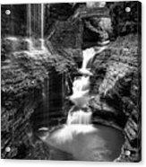 Watkins Glen Rainbow Falls #2 Acrylic Print