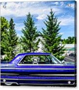 Watson - 1965 Cadillac Sedan Deville Acrylic Print