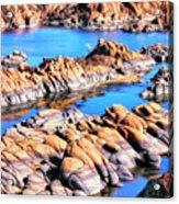 Watson Lake At Prescott Az Acrylic Print