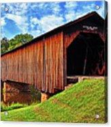 Watson Mill Covered Bridge 040 Acrylic Print