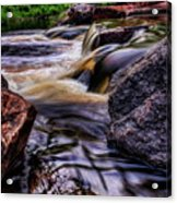 Wausau Whitewater Course Side View Acrylic Print