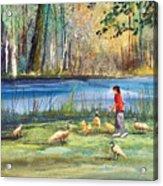 Wautoma Mill Pond Acrylic Print