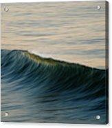 Wave Art Acrylic Print by Kelly Wade