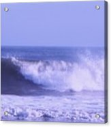 Wave At Jersey Shore Acrylic Print