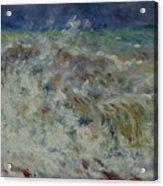 Wave At Sea Acrylic Print