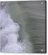 Wave Break  Acrylic Print
