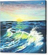 Wave By Early Light Acrylic Print