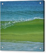 Wave Curl Acrylic Print