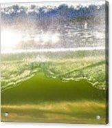 Wave Glass  Acrylic Print