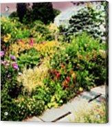 Wave Hill Conservatory Acrylic Print