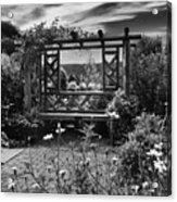 Wave Hill Garden Acrylic Print