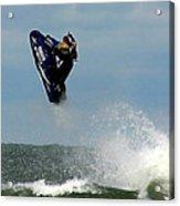 Wave Jumper Acrylic Print