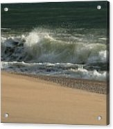 Wave Of Light - Jersey Shore Acrylic Print