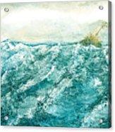 wave V Acrylic Print