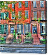 Waverly Place Townhomes Acrylic Print