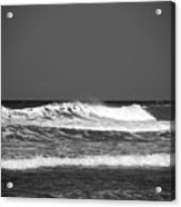 Waves 2 In Bw Acrylic Print
