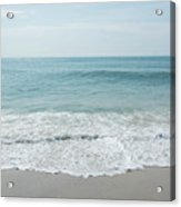 Waves And Assateague Beach Acrylic Print